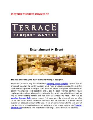 banquet halls wedding venue vaughan
