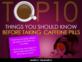 top10 things you should know before taking caffeinepills