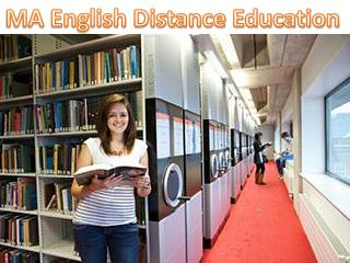 MA English Distance Education in India 9210989898 Admission