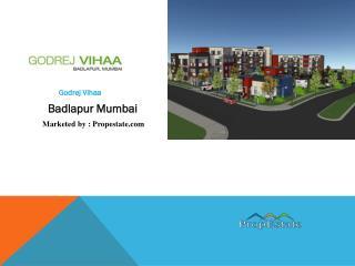 Godrej Vihaa   7838844284   Badlapur in Mumbai