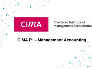 Cima P1 Past Papers