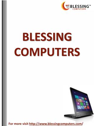 Notebook Computers by Blessing Computers
