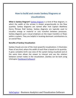 How to build sankey Diagram