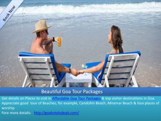 Affordable Goa Tour Packages