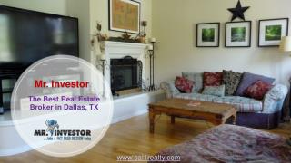 The Best real estate Broker in Dallas