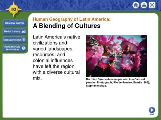 Human Geography of Latin America: