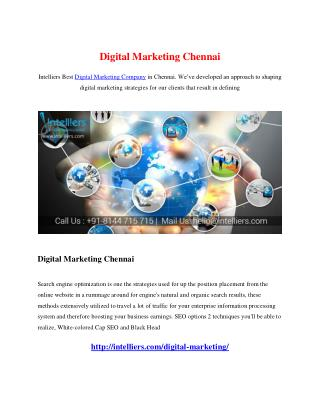 Digital Marketing Chennai