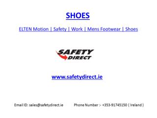 ELTEN Motion | Safety | Work | Mens Footwear | Shoes | safetydirect.ie
