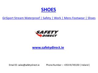 GriSport Stream Waterproof | Safety | Work | Mens Footwear | Shoes | safetydirect.ie