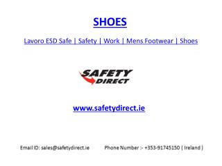 Lavoro ESD Safe | Safety | Work | Mens Footwear | Shoes | safetydirect.ie