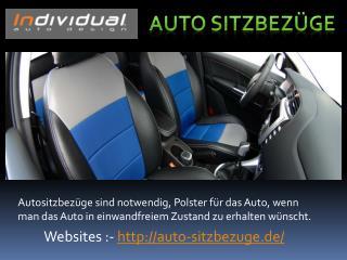 In iness, um Ihr Auto Interieur mit Leder-Auto-Sitzbezüge