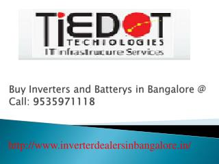 Buy Solar Inverters in Bangalore Call @ 09535971118
