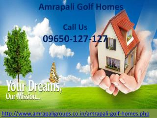 Amrapali golf homes Project Launched By Amrapali Group