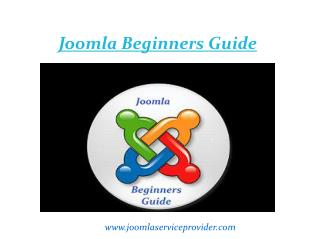 Joomla beginner's guide