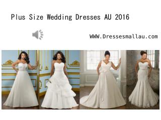 Dressesmallau.com unveil new plus size wedding gowns AU online