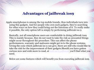 ios9jailbreaker Online