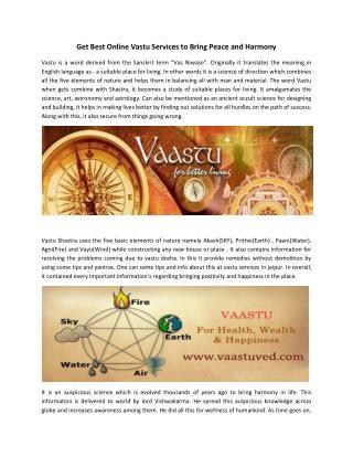 Best Vastu Services in Jaipur India | Vastu Consultant