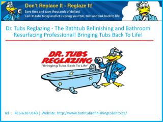 Bathtub Refinishing Toronto