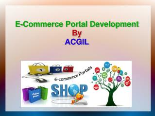 Ecommerce Website & Portal Development in India