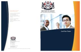 British Academy for Training and Development