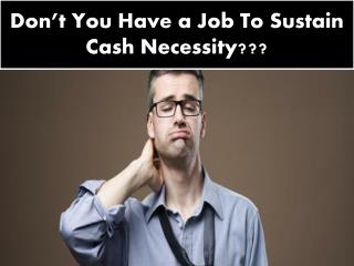 Cash Loans for Unemployed | Jobless Loan Aid