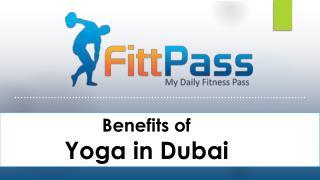 Benefits of yoga in Dubai