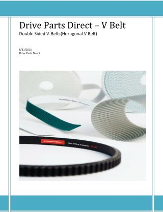 Drive Parts Direct | Hexagonal V Belt