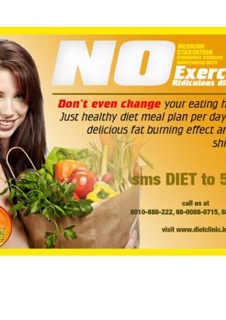 Diet clinic, weight loss center