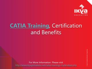 CATIA Training, Certification and Benefits