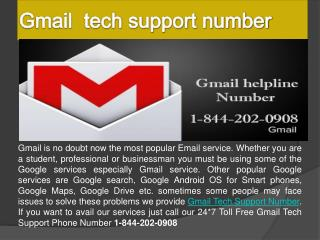 Gmail password recovery phone number for USA 1-844-202-0908