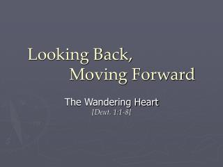 Looking Back,           Moving Forward