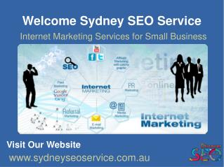 Internet Marketing Services For Small Business | Internet Marketing Services Sydney