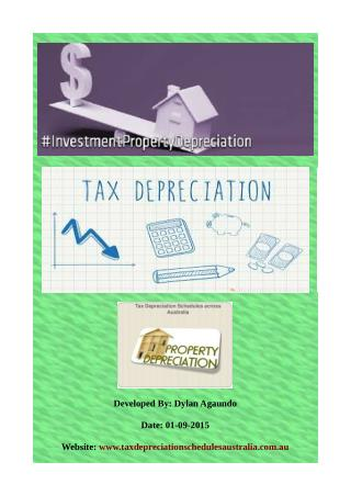 Investment Property Depreciation | Quantity Surveyors