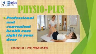 physiotherapy clinic in palam vihar gurgaon