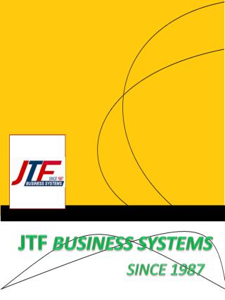 Best office equipment supplier - JTF Business Systems