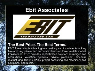 Ebit Associates Business Valuation Advisors