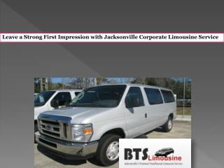 Leave a Strong First Impression with Jacksonville Corporate Limousine Service
