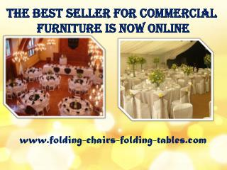 The Best Seller for Commercial Furniture Is Now Online