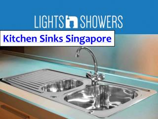 kitchen Sinks Singapore