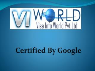 Visa info world Pvt Ltd-visainfoworld.com