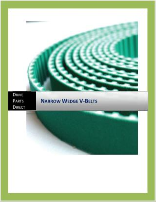 Narrow Wedge V Belts | Drive Parts Direct