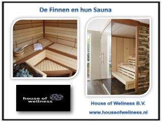 De Finnen en hun Sauna