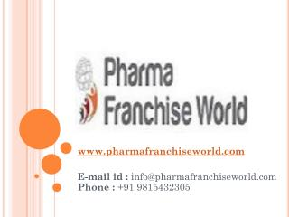 PCD Pharma Company - Pharma Franchise World