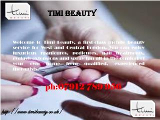 Timi Beauty - The Best Solution of all Beauty Problems