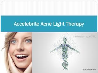 Accelebrite Acne Light Therapy