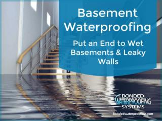 Basement Waterproofing in NJ - Tips to Choose!