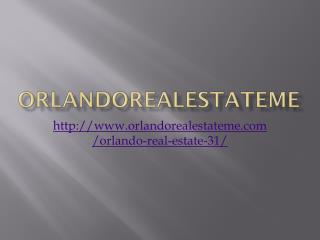Orlando Real Estate