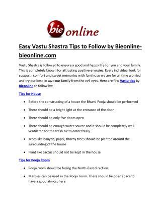 Bieonline vastu sastra-bieonline.com