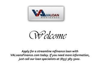 Streamline Refinance