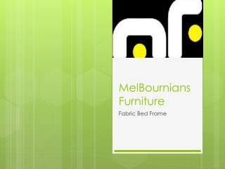 Fabric Bed Frame of Melbournians Furniture